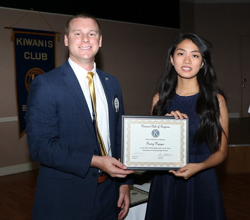 2018 Kiwanis Scholarship Winners