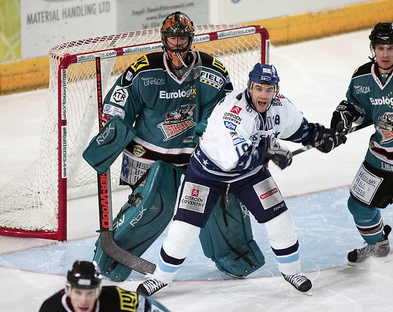 Blaze v Sheffield Steelers - 01/02/2009