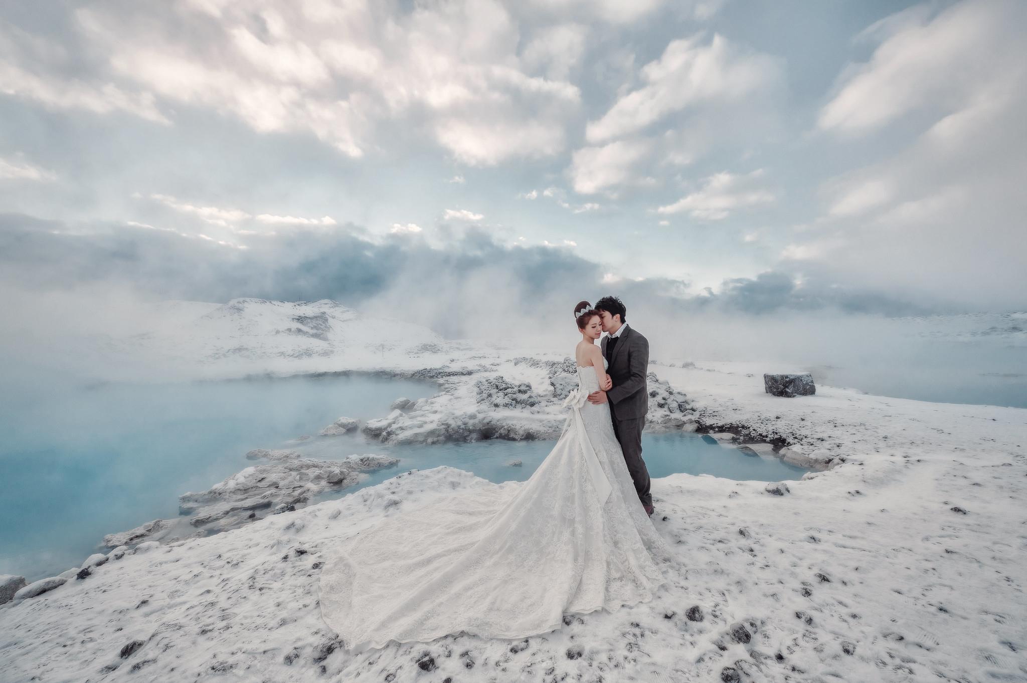 冰島婚紗攻略, 藍湖溫泉, 冰島婚紗, Donfer, Iceland Pre-Wedding