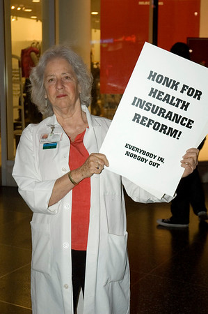 Mad As Hell Doctors - Health Care Reform Rally