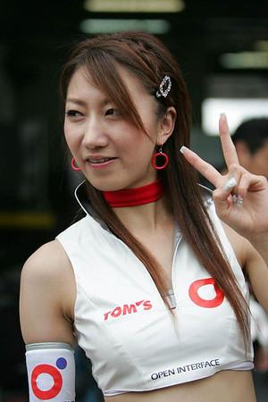 Japan GT Championship 2006 - Race Queens