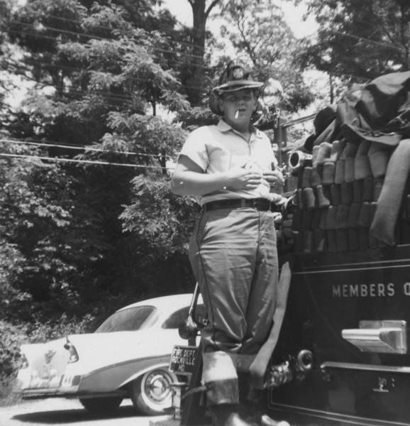 Junior Whipp (on back of truck)