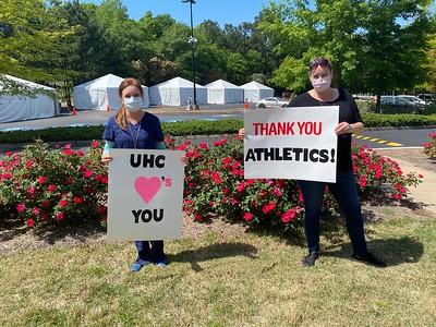 Thank You, UGA Athletics! - 4.15.2020