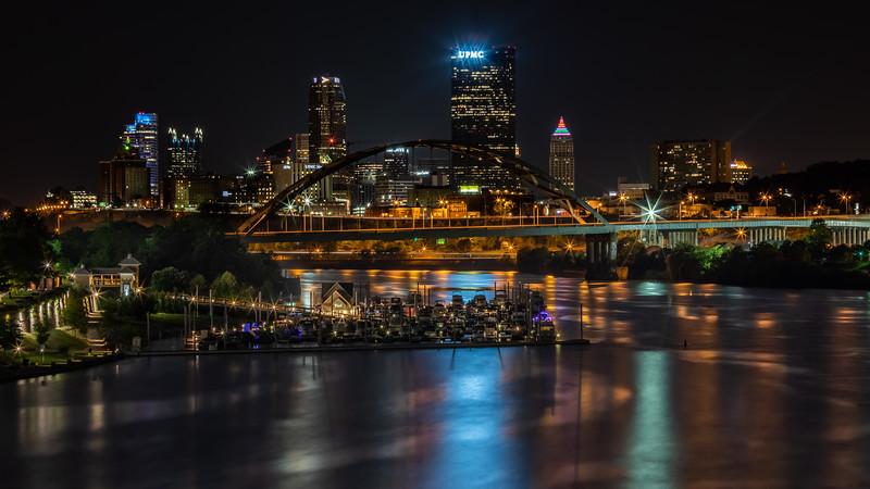 Pittsburgh from the Hot Metal Bridge