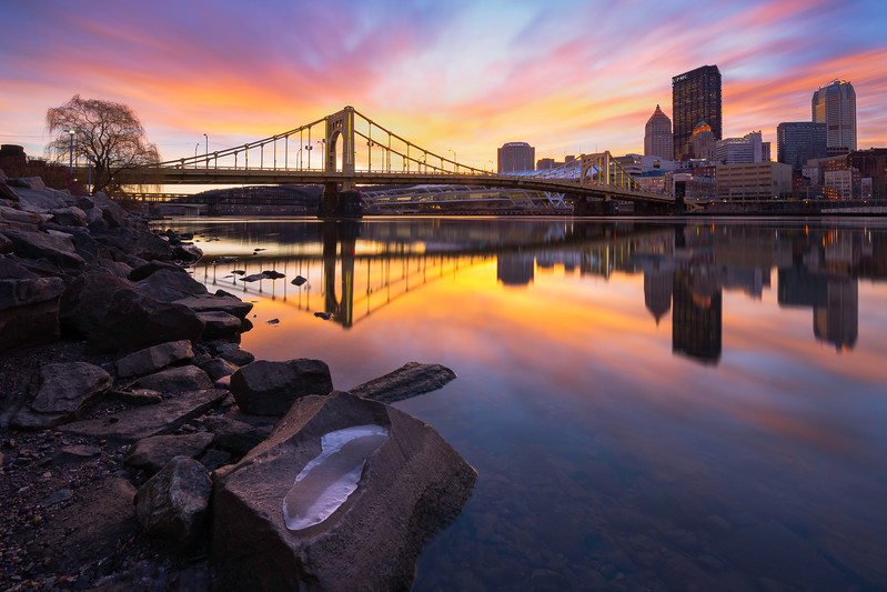 """""""Radiant"""" - Pittsburgh, North Shore   Recommended Print sizes*:  4x6      8x12     12x18     16x24     20x30     24x36   30x45   40x60 *When ordering other sizes make sure to adjust the cropping at checkout*  © JP Diroll 2017"""