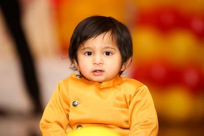 Happy 1st Birthday Ayansh
