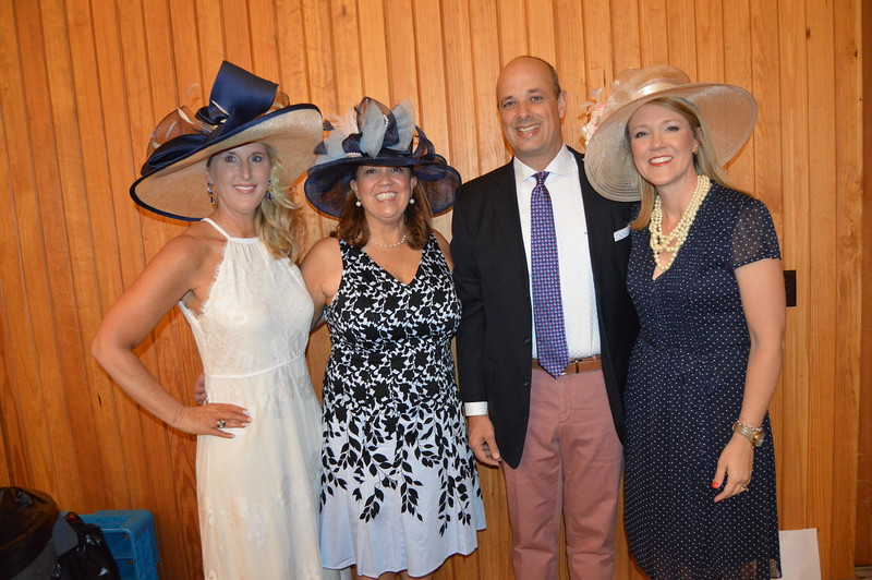 Tammy Stephens (Co-chair) Carol Johnston (Co-chair), Greg Hall, Frisa Hall (Honoree) 7.JPG