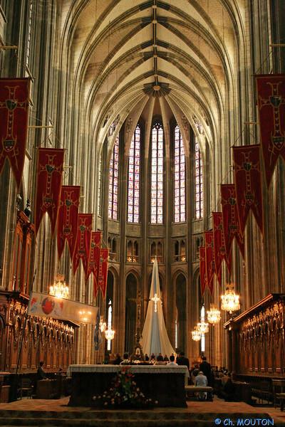 Cathedrale - Interieur décoré