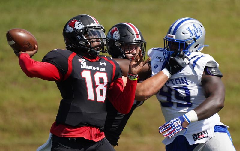GWU Football vs. Hampton 10/12