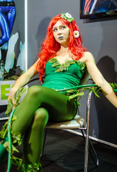 Poison Ivy at Igromir 2012