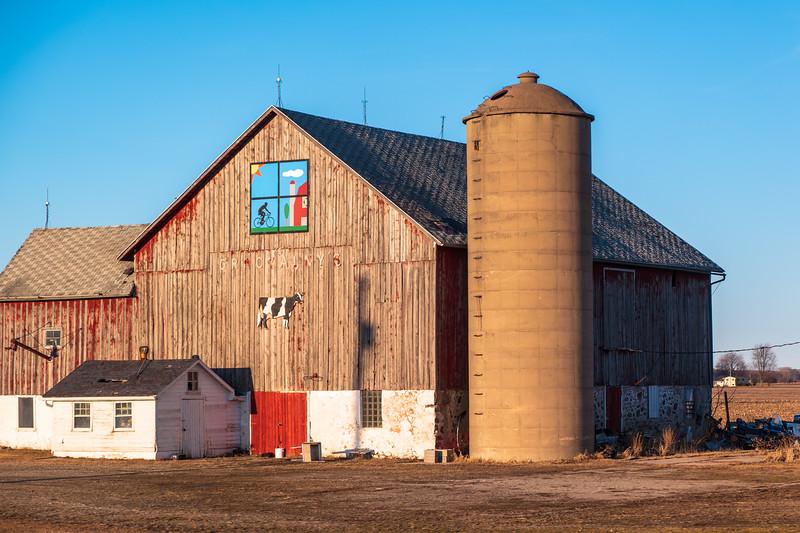 Wisconsin Barn and Silo