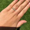 1.17ctw French Cut Diamond 7-Stone Band 19