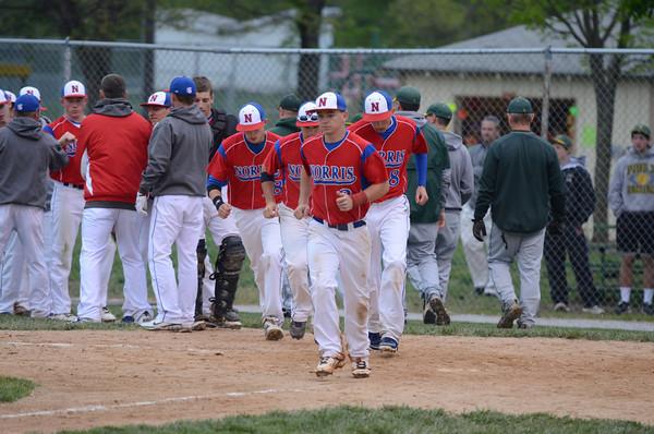 Varsity Baseball vs Pius