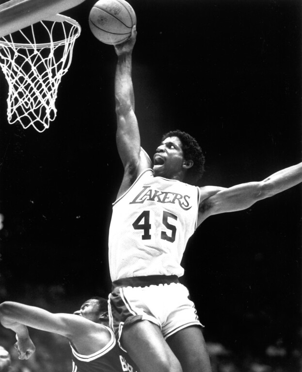 . 1987: Lakers forward A.C. Green.  Daily News file photo