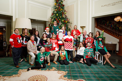 CS & ES Ugly Sweater Group Photo 2018