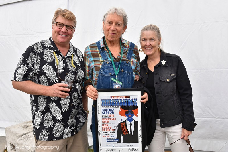 Peter Rubens, Elvin Bishop and Peggy Rubens