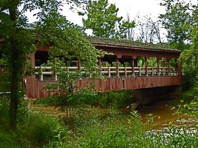 130720-Metropark's Strongsville Covered Bridge