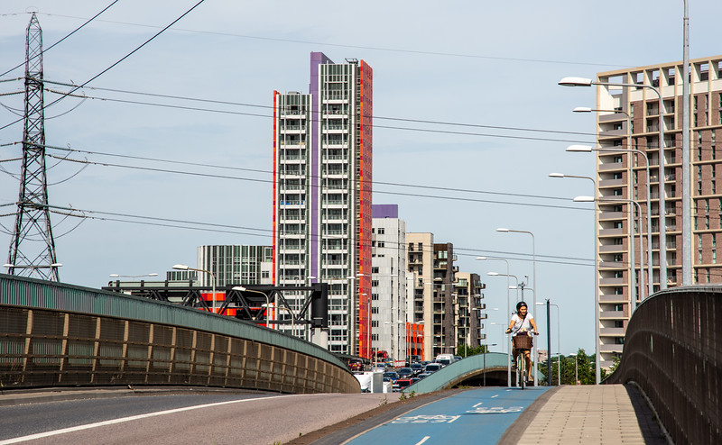 New housing at Canning Town