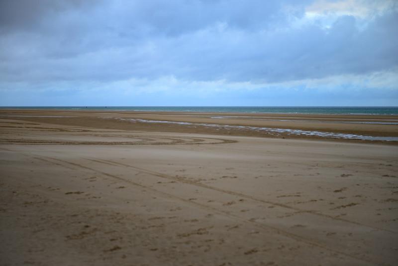 Omaha Beach looking West