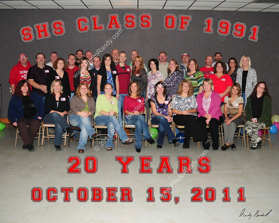 SHS Class of 1991-20 Year