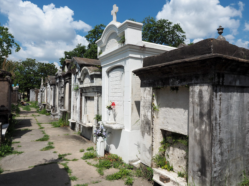 Lafayette Cemetery No. 1 in New Orleans