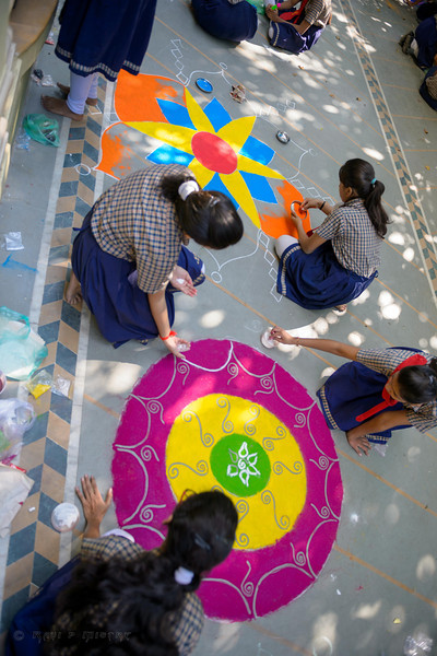 School Rangoli 2013