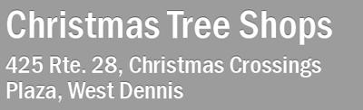 2012 09-28 Christmas Tree Shop
