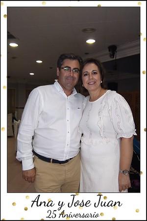25 aniversario Ana  y Jose J