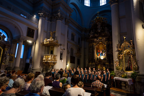 Day 3 - Trip to Lake Bled and performance at Holy Trinity Church with Kranj Gymnasium Girls' Choir