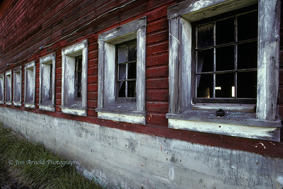 Barn Windows - Buford Park - Lane County, OR