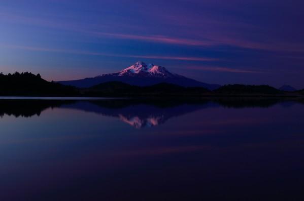Sunrise at Mount Shasta