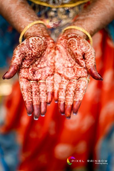 Sanjay+Priya Bride