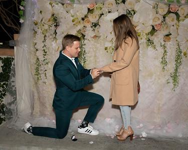 The Secret Proposal of Ashley & MJ