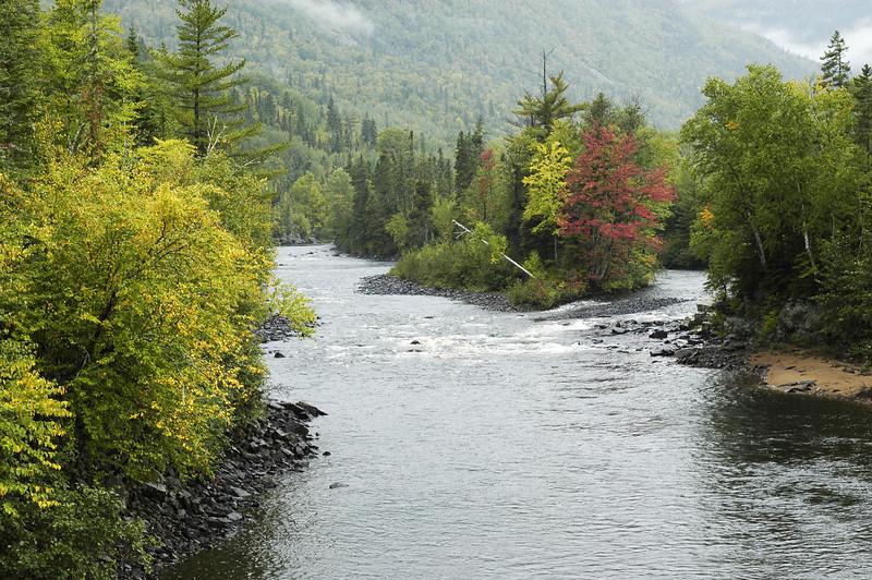 Rivière Malbaie  Malbaie river - Parc des Hautes Gorges de la Rivière Malbaie