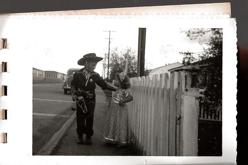 Ellis Mirsky and Phyllis Jayne Mirsky, ca. 1952