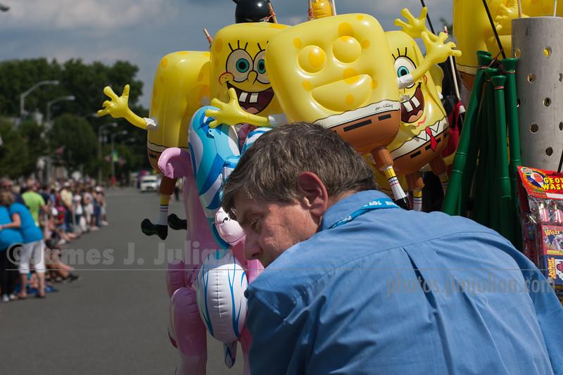 Street Vendor at the Parade