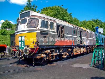 Class 27 Diesel Locomotives