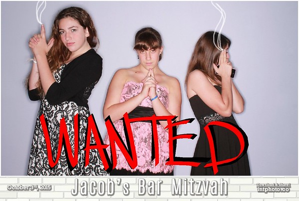 2015-10-03 Jacob's Bar Mitzvah - Photo Graffiti Wall