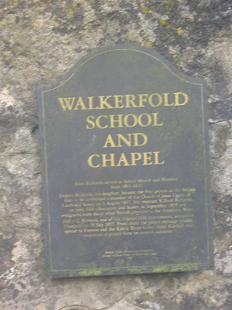 Walkerfold House and Church