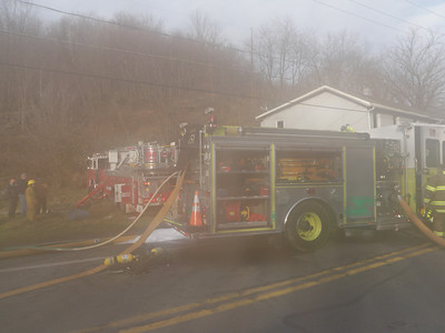 MAHANOY TOWNSHIP HOUSE FIRE 11-12-2011 PICTURES BY COALREGIONFIRE