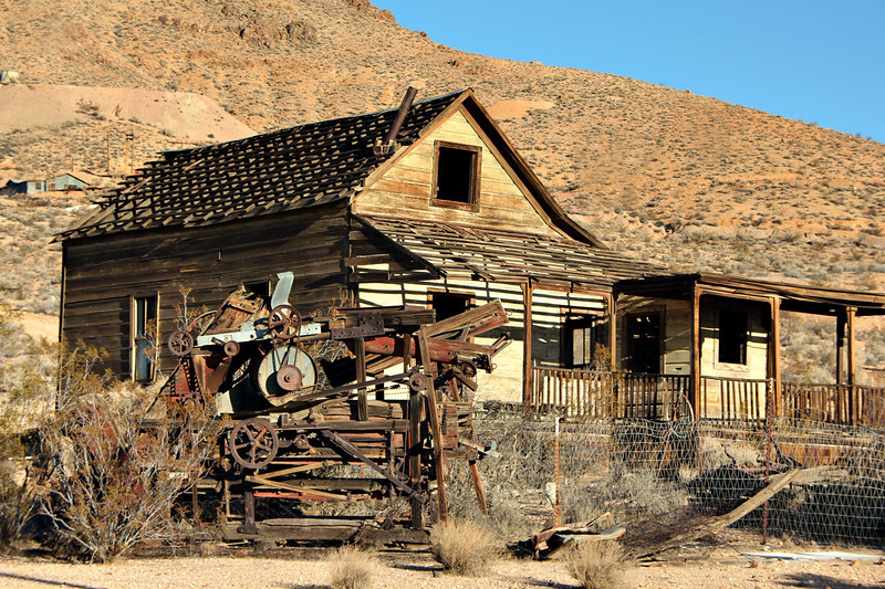 Tropico Mine #2 Rosamund California Private property, admission by permission only