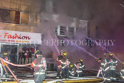 Paterson (NJ) 4th Alarm: 268 Main St. 1/5/18