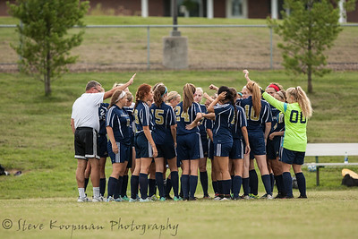 2016 PHS Girls Soccer vs Forest Park