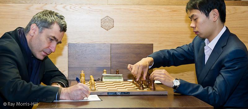Round 11: Vassily Ivanchuk vs Wang Hao
