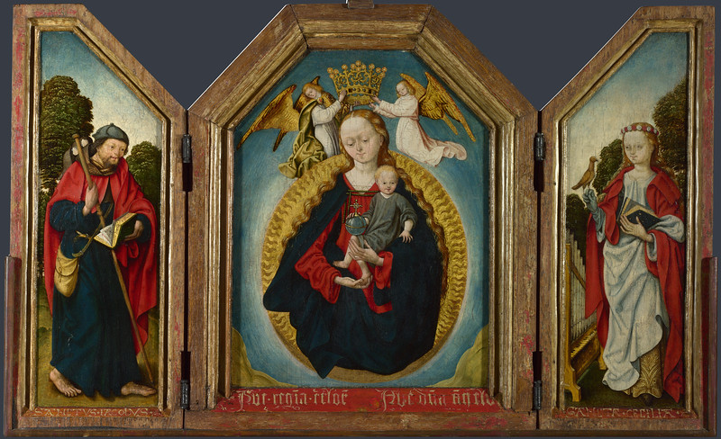 The Virgin and Child in Glory with Saints