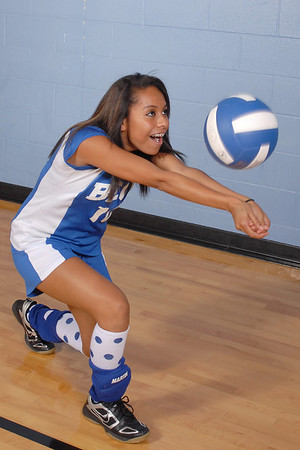 Beck Academy Volleyball 2009