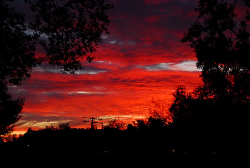 Sunrise January 4, 2010 - A