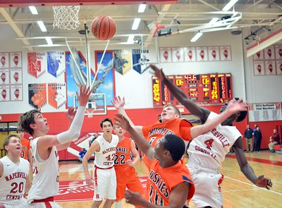 Boys Basketball: Naperville North at Naperville Central Dec., 12, 2014