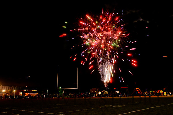 17 NOHS FTBL PREGAME ACTIVITIES-FIREWORKS