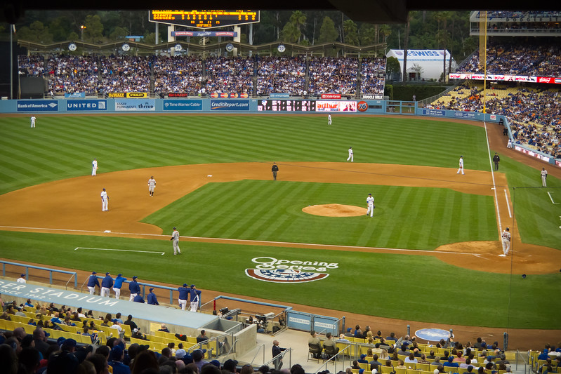 2011 04/03: Dodgers vs Giants